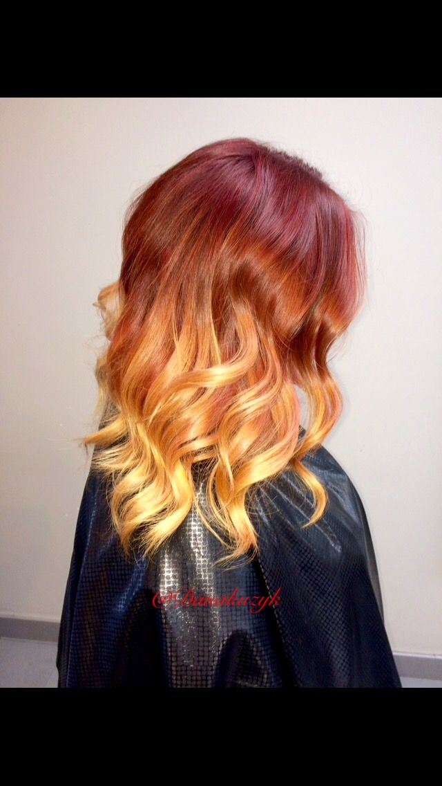 Red and copper colour melt 🔥