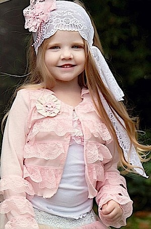 Dollcake Musky Pink Cardy - I wish Kennedi would let me put her in something like this :o)