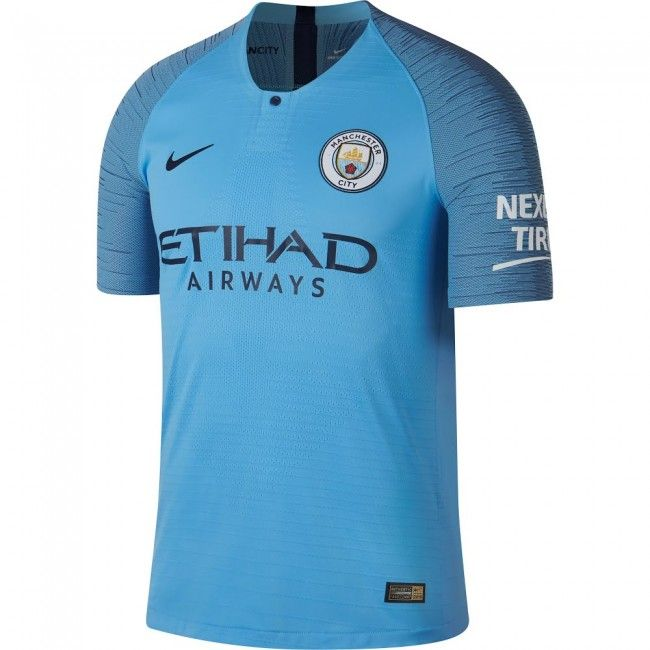 Camiseta Auténtica del Manchester City 2018-2019 Local Vapor Match  mancity   shirt   5faa7a32f7871