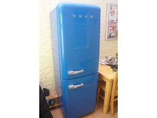 SMEG FAB32 A++ energy rated Frost free Fridge freezer Manchester Picture 1  Ready to use. REASONABLE OFFERS WELCOME!
