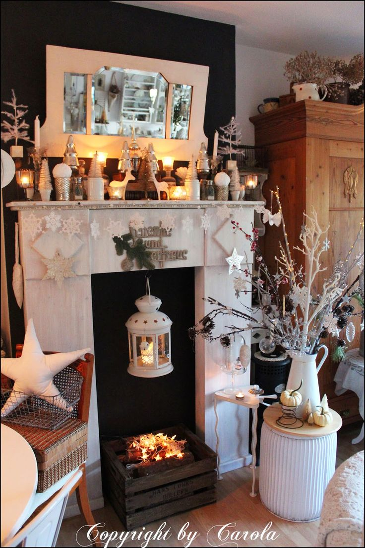 Winter Decorating   Welcome To Boxwood Cottage: White Winter U0026 Happy New  Year