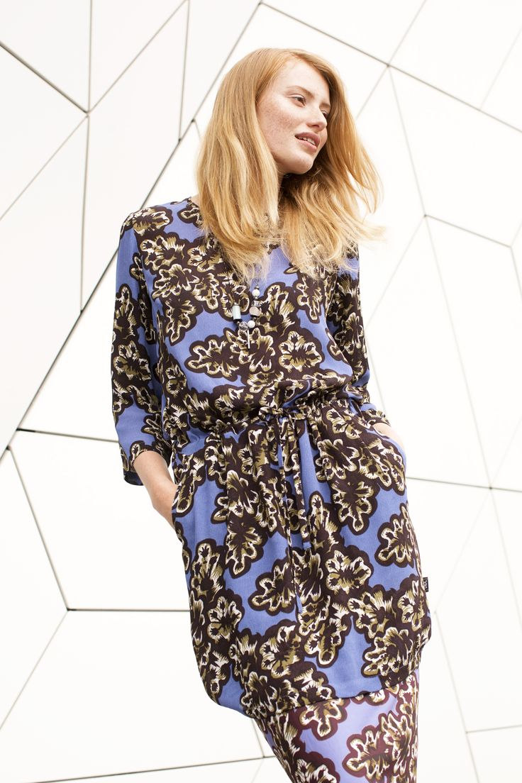 Campaign Fall | Fashion | Photography | Dress | Flower Print | Purple | New Collection | Pretty Different