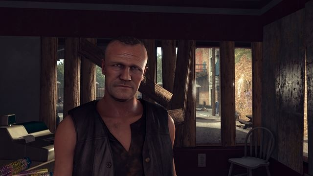 The Walking Dead: Survival Instinct video game screen shot (video game featuring Merle and Daryl Dixon from The Walking Dead)