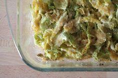 Cavolo verza gratinato   Cercate un modo per far mangiare la verdura ai vostri bambini? La ricetta del cavolo verza gratinato è l'ideale: gusto e nutrimento