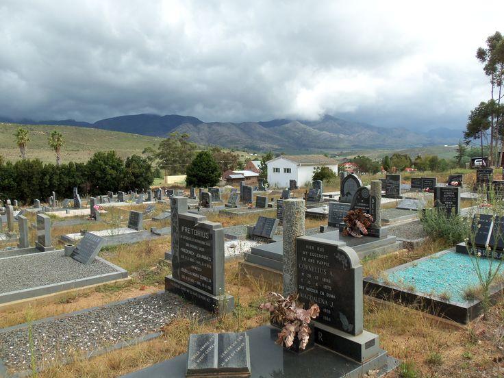 Joubertina Graveyard South Africa