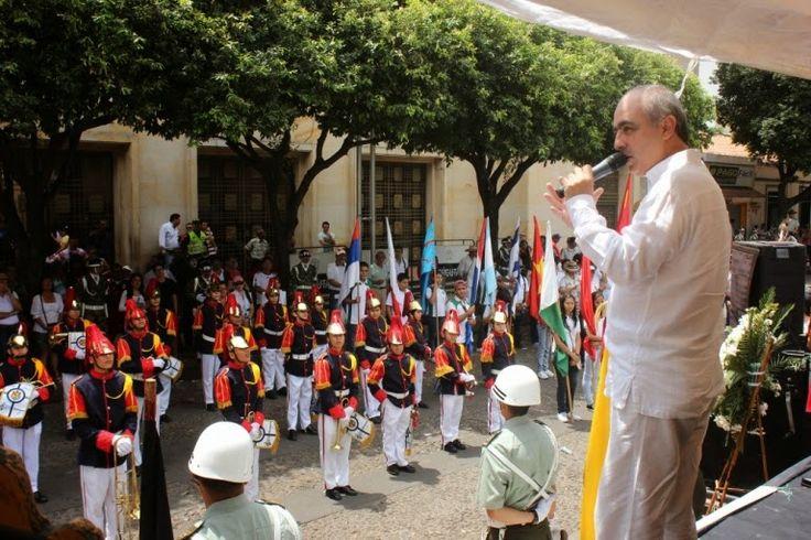 """Noticias de Cúcuta: """"BOLÍVAR"""" REVIVIÓ 202 AÑOS DESPUÉS EN CONMEMORACIÓ..."""