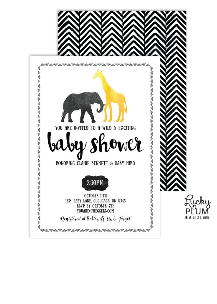 Safari Baby Shower Invitation / Animal Baby Shower Invite / Black and Gold Invite / Couple Shower Invite / Elephant Invite / Digital file Invitation Baby Shower Invite Couple Shower Invite Print Goods Safari Invite Animal Invite Elephant Invite Monkey Invite Lion Invite Jungle Invite Forest Invite Modern Geometric Black Gold 18.00 USD #goriani