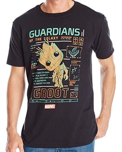Funko Pop! Marvel Guardians of the Galaxy Baby Groot T-Shirt (affiliate link)