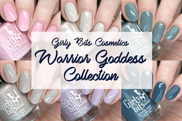 Girly Bits Cosmetics Warrior Goddess Collection