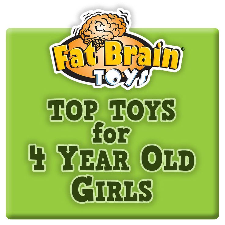 Top Toy Picks for 4 Year Old Girls- may need to come back here for new SLP games too