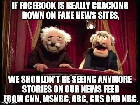 Truth! Fact! These news stations ratings are now lower then the weather channel by great margin.