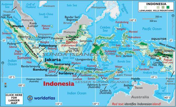Bali Indonesia Map bali photos bali map and information world atlas ...
