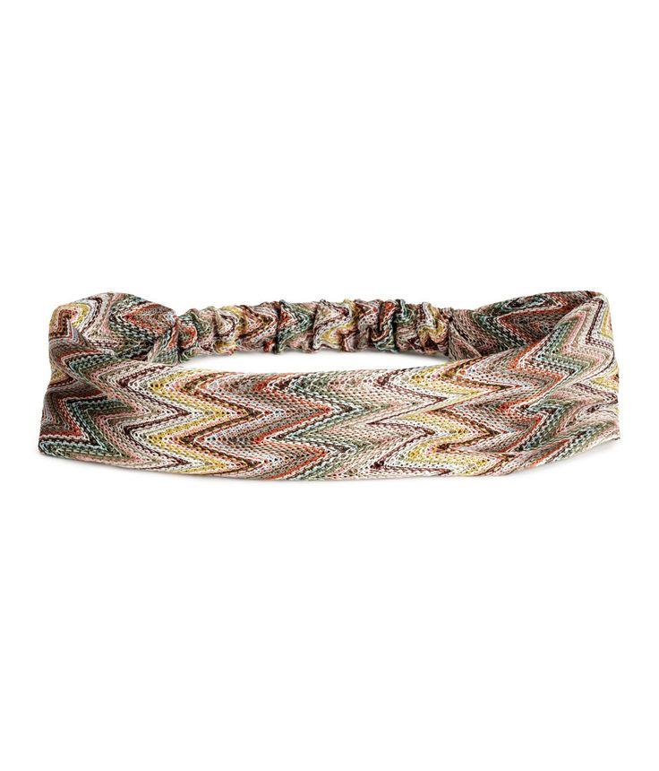 H&M headband. August 2015