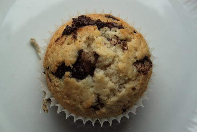 Kamila's plate: Waniliowe muffiny z czekoladowymi piegami