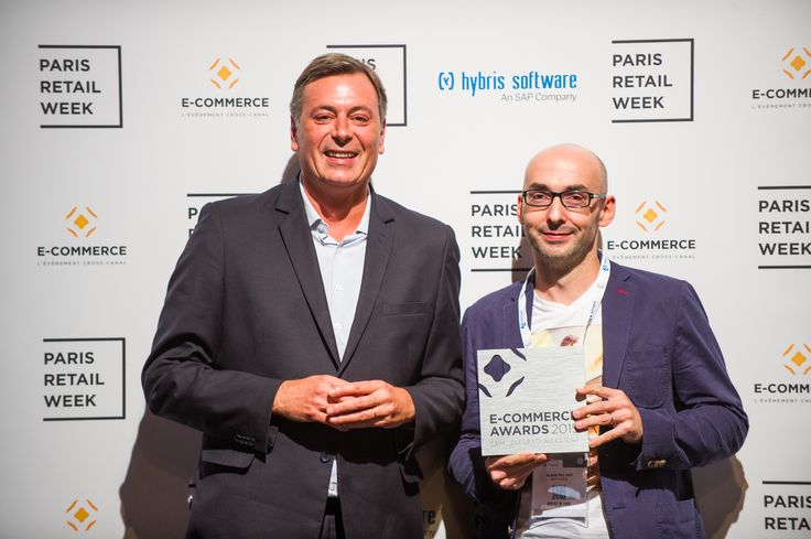 """AntVoice, winner of the category """"CRM: from lead to customer"""" with My La Redoute, an entirely customized shop for one of France's e-commerce leaders. #ECP15 #ParisRetailWeek #AWARDS"""