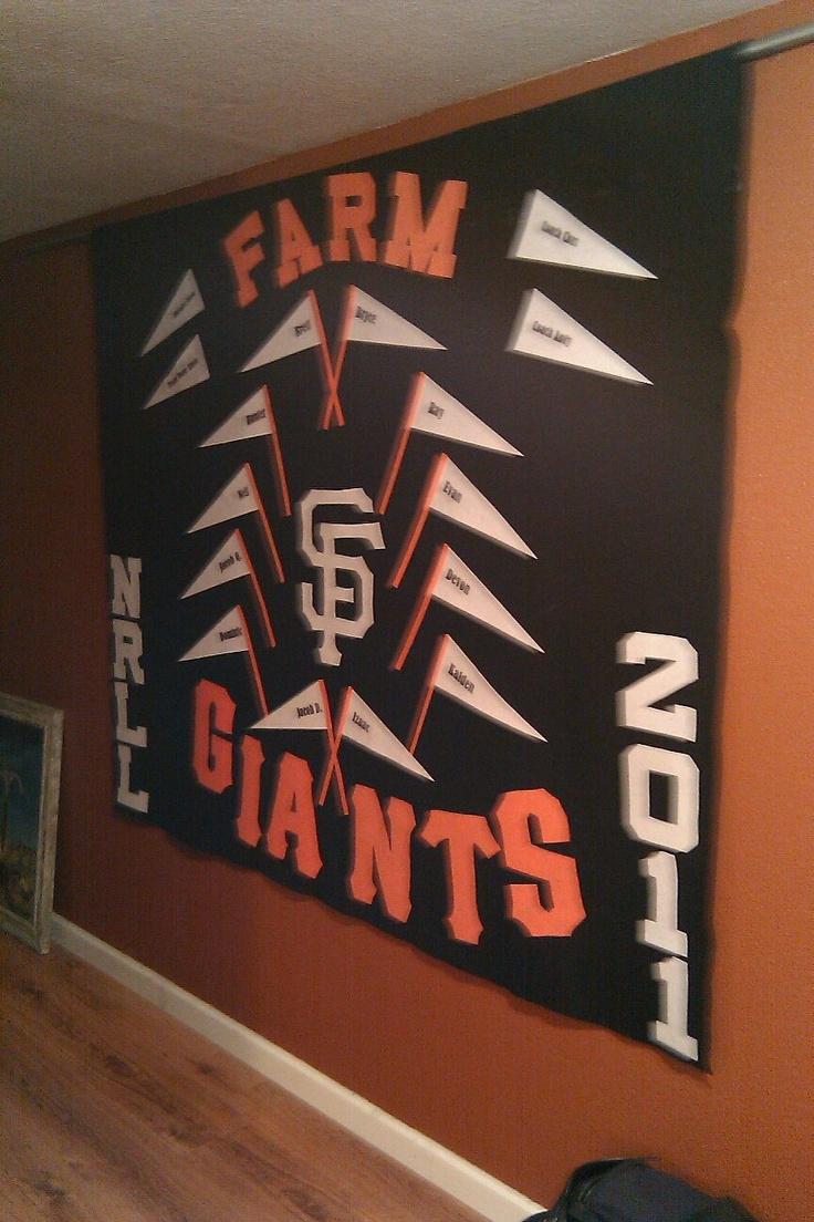 Little League Giants Banner
