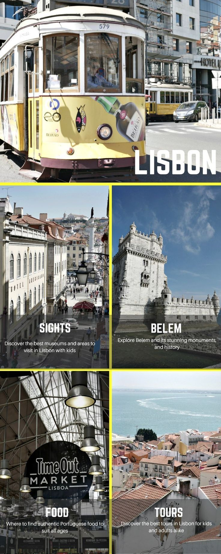 Our round up of the top 10 things to do in Lisbon with kids including museums, sights, walks and tours.