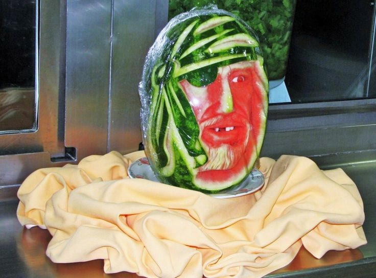 Best Watermelon Art Images On Pinterest Carved Watermelon - Incredible sculptures carved watermelon