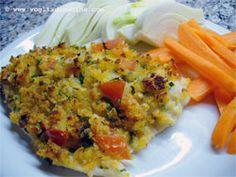 filetti di pesce persico gratinati