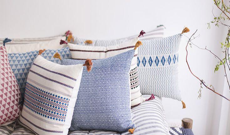 India lifestyle cushion by Jamini