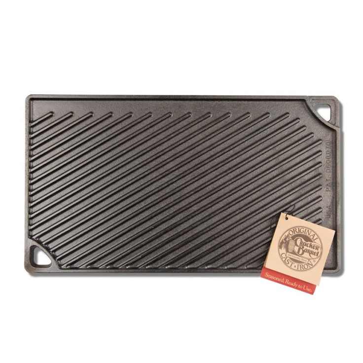 Reversible Lodge Cast Iron Griddle - Last Minute Gift Ideas!  (Rolling Down the Highway) #spon #CrackerBarrel