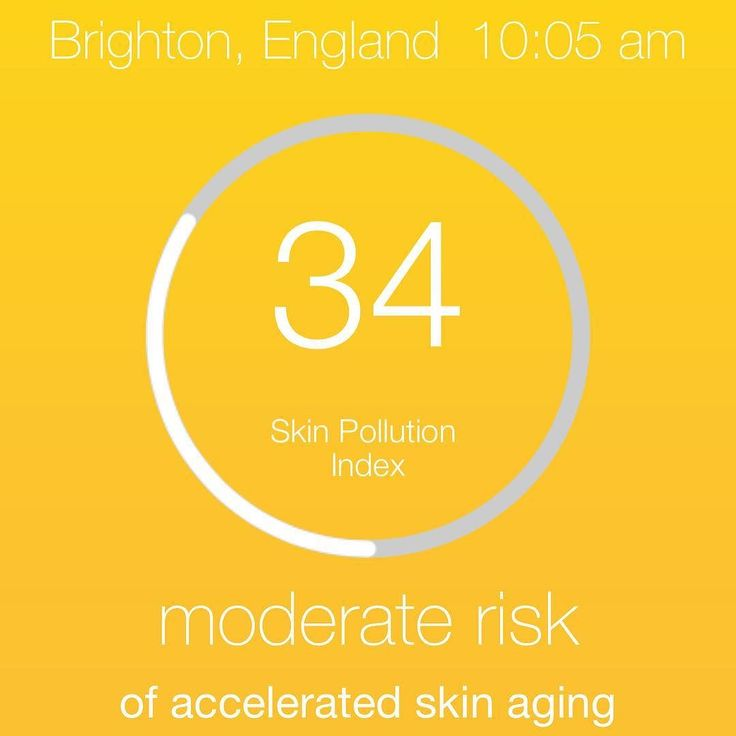 Today's #pollution index for #Brighton.  Our registered most dominant pollutant is Nitrogen Dioxide that is mainly caused by vehicle exhaust or gas powered heat in homes.  Nitrogen dioxide can generate free radicals that degrade amino acids and protective lipids found in the skin. If you would like a free skin health assessment you can book with us for a #myfacemystory #dermalogica face mapping treatment  #skincare #skinexperts #skinhealth #brightonbloggers #brightonlanes