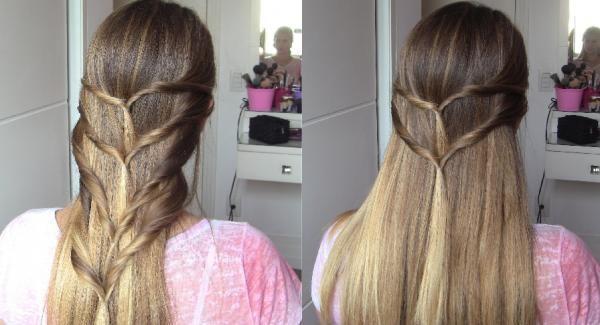 Como fazer trança grega - 4 passos (com imagens) - umComo #penteados #cabelo #tranças