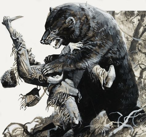 Take a mountain man hundreds of miles from civilization, add a bear, subtract his gun, and what do you have? Hugh Glass, and one epic tale of survival.