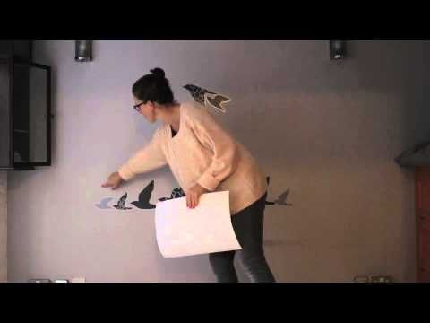 DIY: haz tu propio cabecero con vinilos y pegatinas