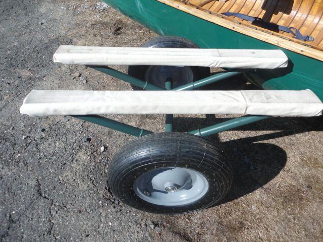 Image result for canoe cart