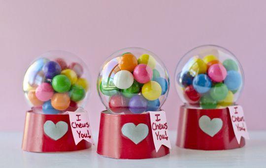 DiY : Minis machines à Bubblegum - boule plastique et gobelet