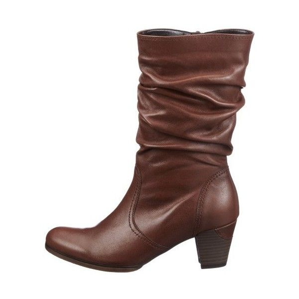 Gabor Women's Majestic Mid Calf Boots ❤ liked on Polyvore featuring shoes, boots, gabor, mid-calf boots and gabor boots