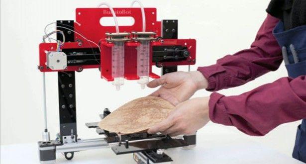 3D Printer Creates Customised Burritos
