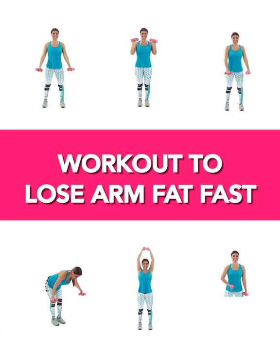 5 Minute Workout To Get Rid of Flabby Arms