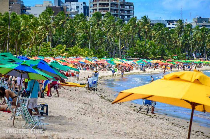 O que fazer em Maceió: Praias e Pontos Turísticos: Praia de Pajuçara