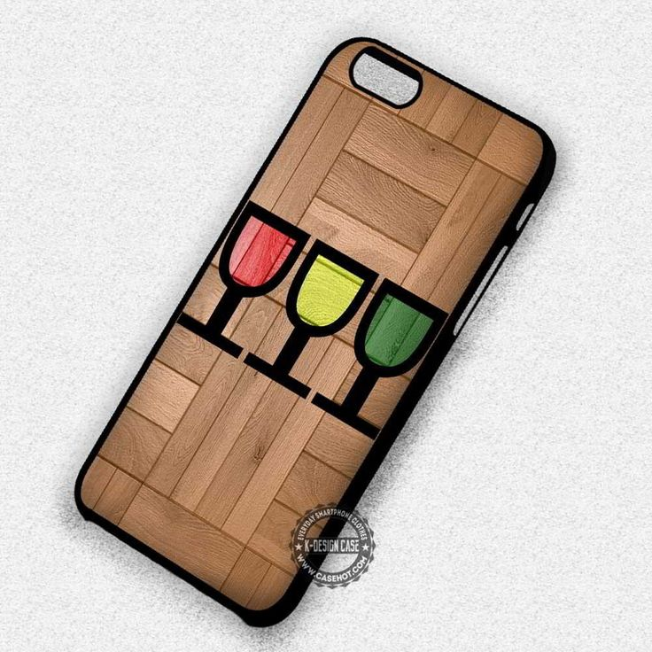 Colorful Glass Wood Pattern Art - iPhone 7 6s 5c 4s SE Cases & Covers