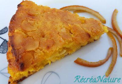 RécréaNature : Gâteau de Pommes de Terres aux Amandes et à l'Orange - Sans Gluten