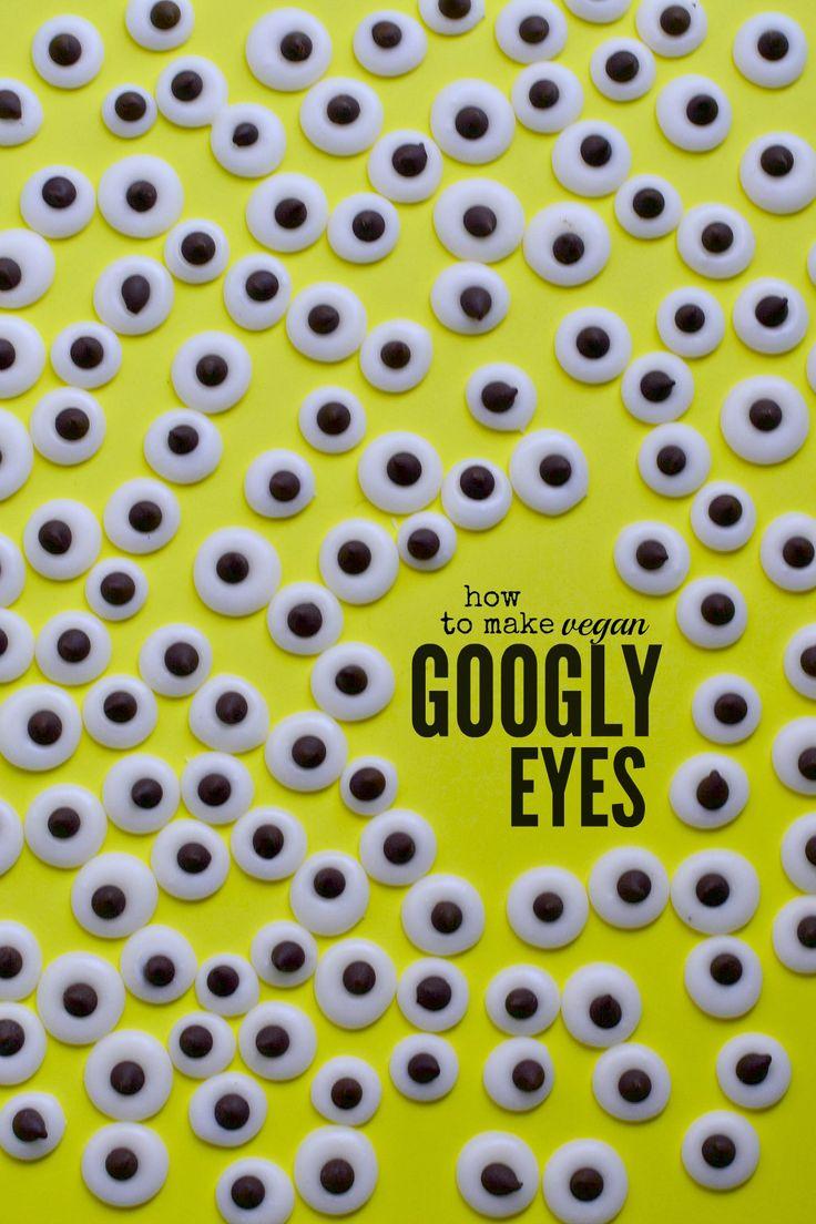 How To Make Googly Eyes  ~ dairy-free, gluten-free, kid-friendly, no bake, nut-free, vegan