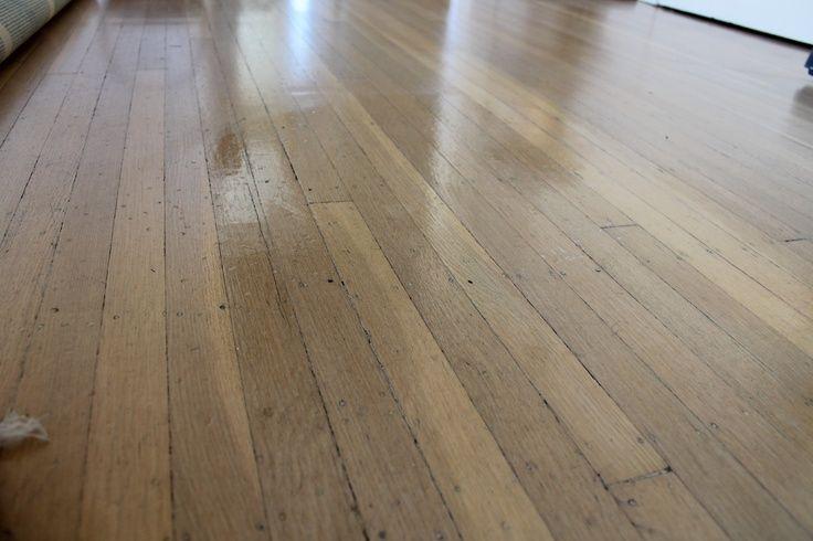 DIY Wood Floor Polish