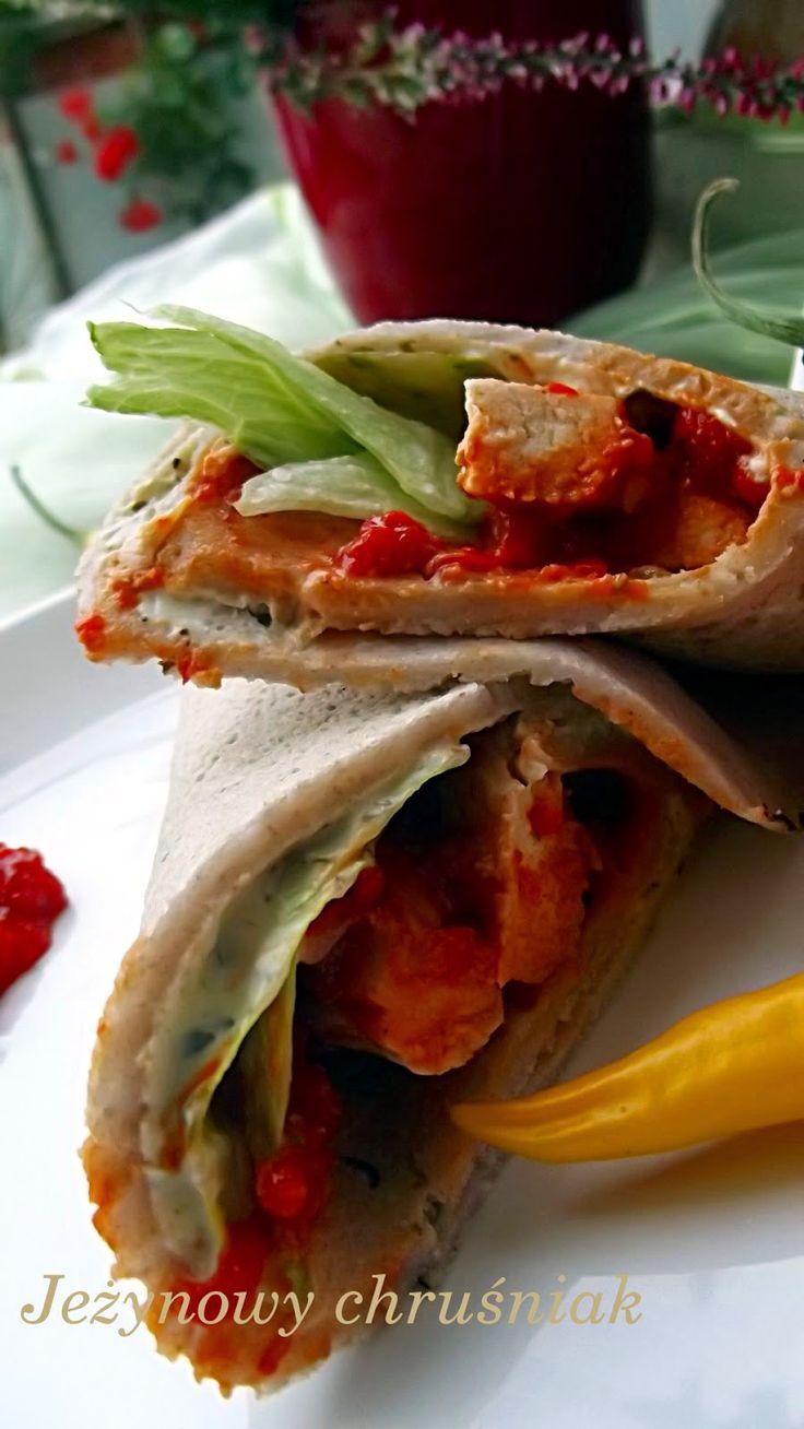 Gryczane Naleśniki a'la Tortilla z Kremowym Serkiem