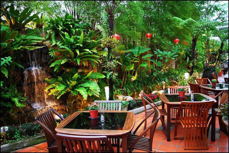 Ferringhi Garden Restaurant, Penang. Best coffee in Penang