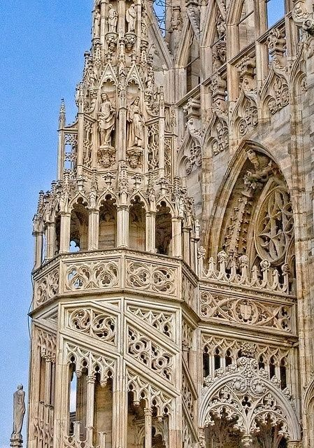 Duomo, Milan Cathedral Italy - so breathtakingly beautiful - even more so in life!