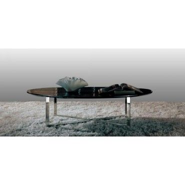 Havana Oval Coffee Table By Armani Xavira Side End Tables Living Room