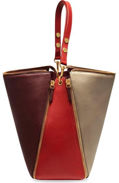 Mulberry 'Camden' Colorblock Smooth Leather Hobo available at #Nordstrom