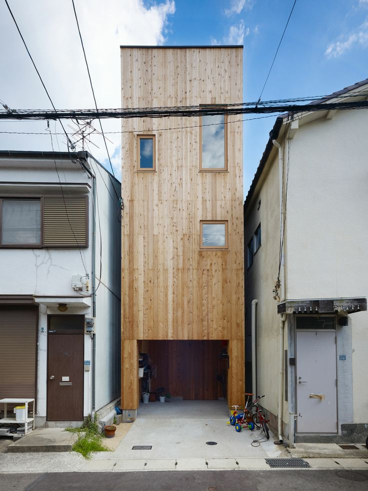 Selectism: U201c Narrow House In Nada, Japan By Fujiwaramuro Architects:  Japanese Architects Continue To Make Great Things From Small Spaces, This Narrow  House ...