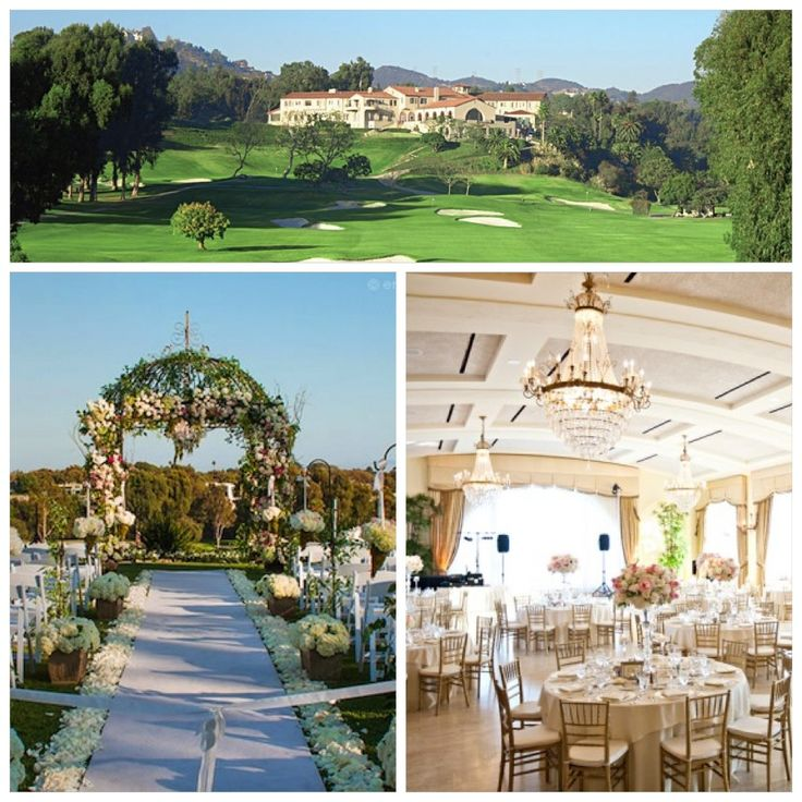 Riviera Country Club-An Amazing Location For An Outdoor