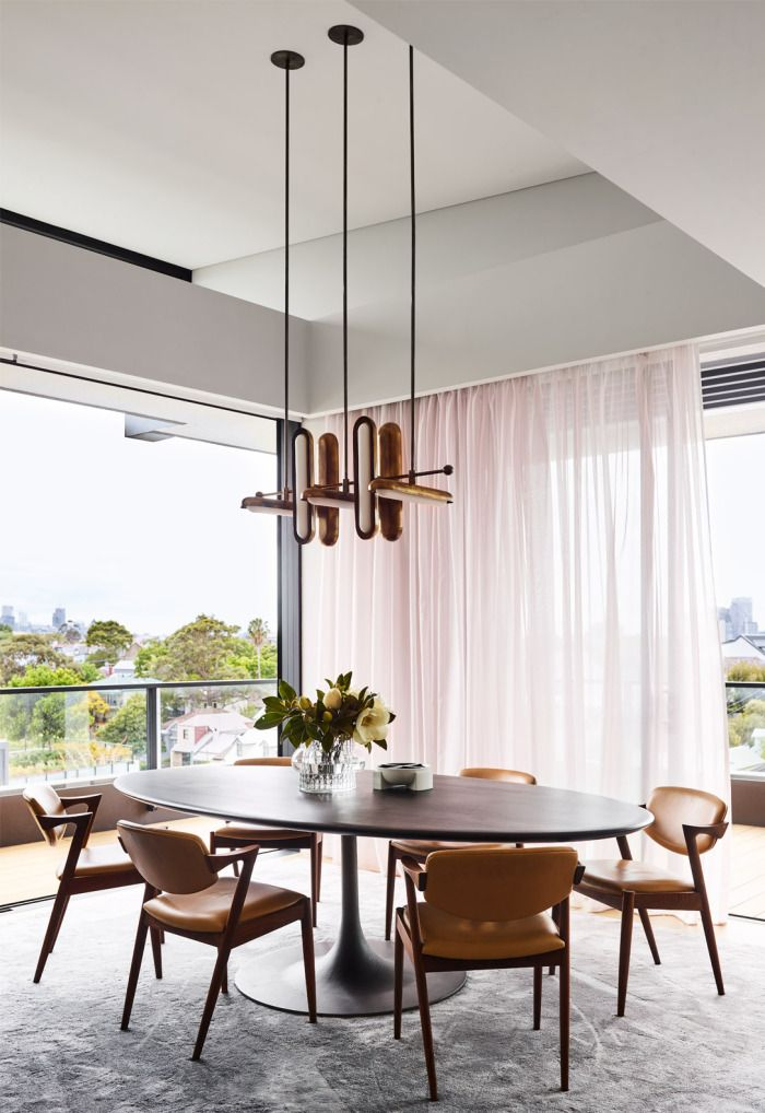 Treetop House By Arent Pyke Interior Design Studio Dining Room Window Treatments Modern Window Coverings Dining Room Windows