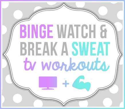 Binge Watch & Break A Sweat - Gossip Girl & Friends TV Workouts (with FREE Printables)