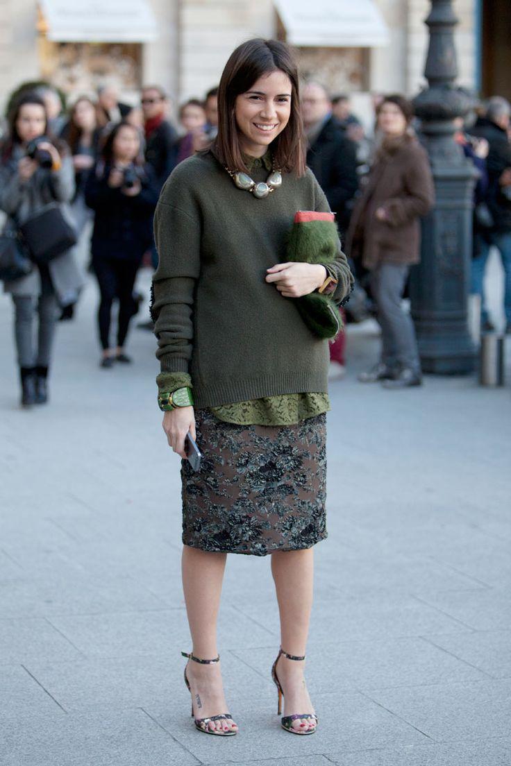 Street Style Paris Fashion Week - Street Style Photos from PFW