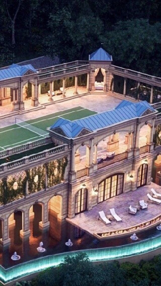 Luxury Mansions@Luxurydotcom | This looks like a Stadium for Sports, not a home....Wow ...